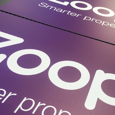 A3 Correx Signs, Advertising Signs, Lamp Post Signs