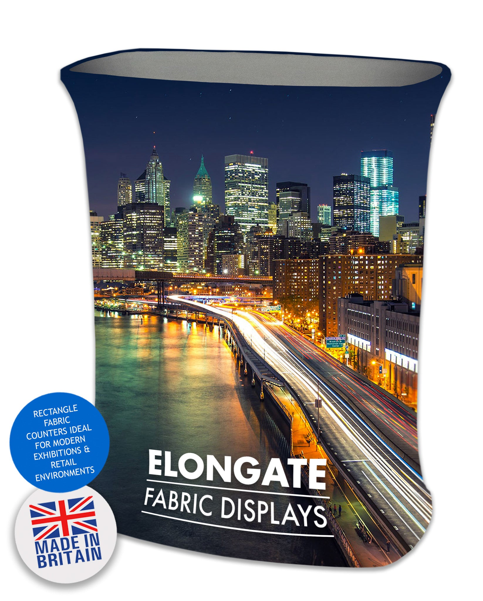 TEXSTYLE RECTANGLE ELONGATE FABRIC COUNTER