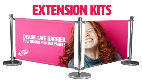 Café Barriers Extension Kits