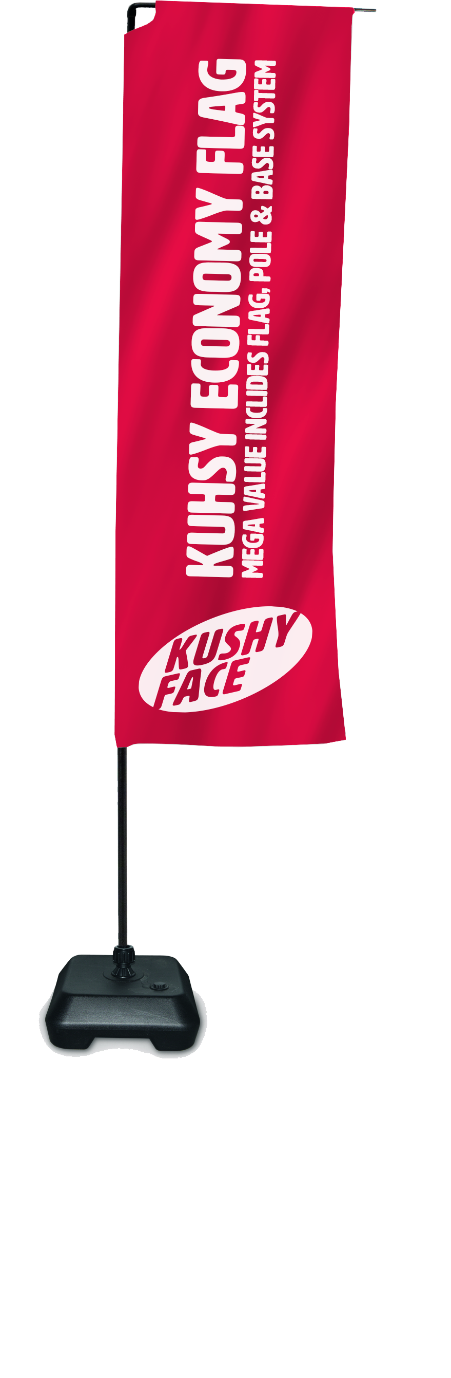 Kushy Economy Rectangle Flag