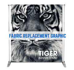 FABRIC GRAPHIC REPLACEMENT TIGER PEGASUS MONUMENT FABRIC STAND
