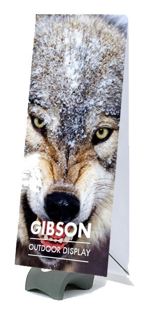 Gibson Outdoor Banner Display Double Sided - 2100mm x 800mm