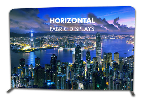 TEXSTYLE FABRINK HORIZONTAL STRAIGHT FABRIC DISPLAY POP UP STAND