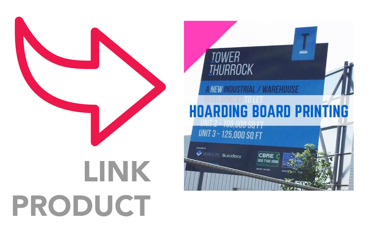 ALUMINIUM COMPOSITE BOARD - HOARDING BOARD PRINTING - OPTIONS