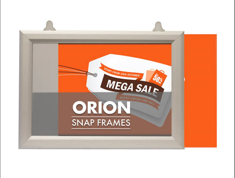 ORION 25mm SLIDE IN FRAMES DOUBLE SIDED AVAILABLE IN LANDSCAPE & PORTRAIT