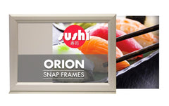 ORION 25MM DOUBLE SIDED COUNTER SLIDE IN POSTER STAND