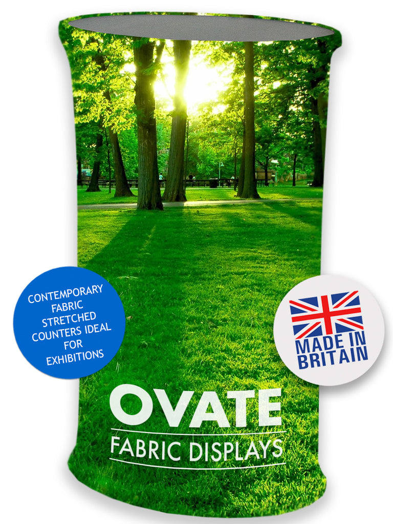 TEXSTYLE OVAL OVATE FABRIC COUNTER