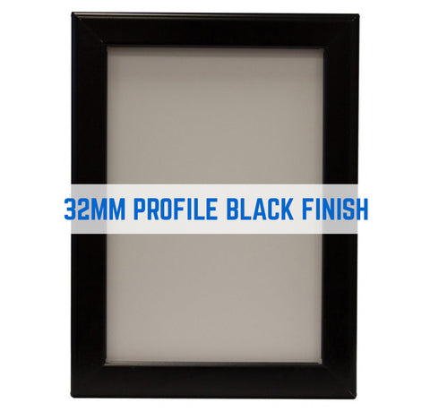 RANDOLPH BLACK 32MM POSTER GRIP SNAP FRAME