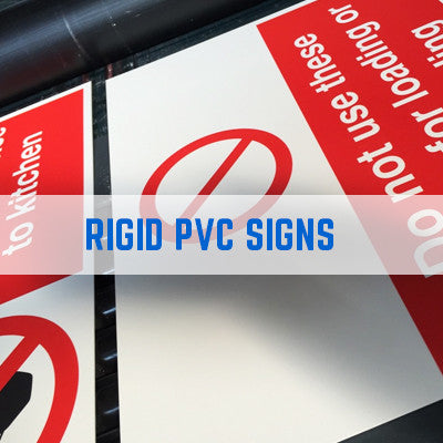 RIGID PVC HEALTH AND SAFETY SIGNS