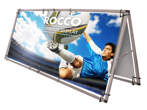 Rocco Outdoor Floor Banner Frame System