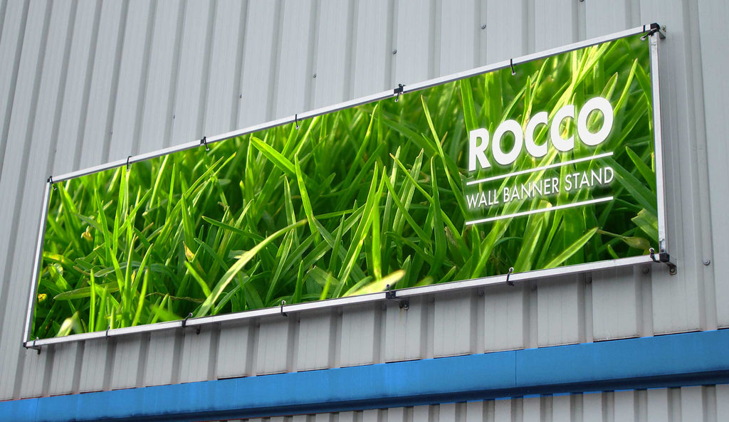 Rocco Outdoor Wall Banner Frame System