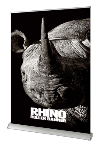Rhino Roller Banner | High Quality Roller Banners UK