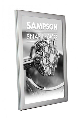 ILLUMINATED SNAP POSTER FRAMES 25MM SINGLE & DOUBLE SIDED LED LIGHT BOX