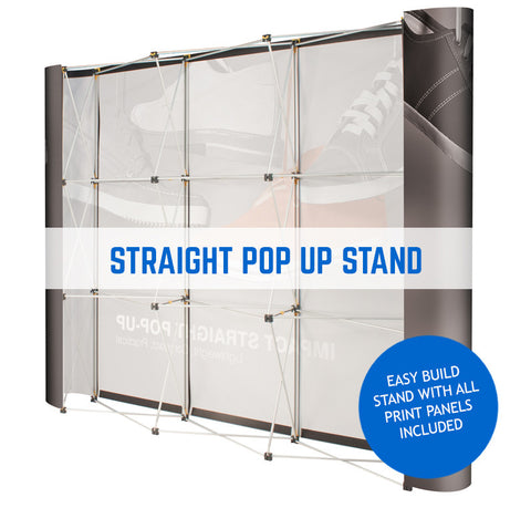 STRAIGHT POP UP EXHIBITION DISPLAY UNIT