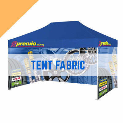 TENT FABRIC - 260gsm coated polyester outdoor tent fabric