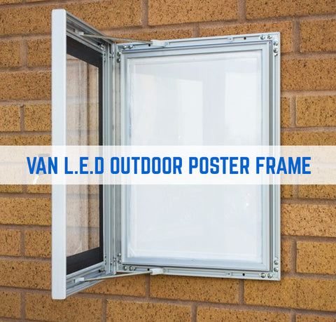 HIGH QUALITY OUTDOOR LED POSTER FRAME SINGLE SIDED