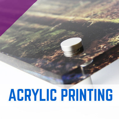 Acrylic Perspex Printing 3mm, 5mm, 10mm & 20mm Thick Options