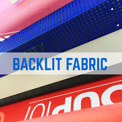 Polyester backlit fabric printing - Ideal for Silicon Edge Graphics
