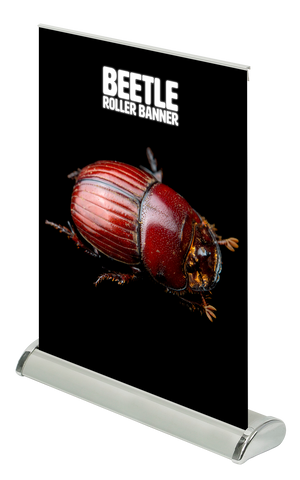 Beetle Mini Desktop A3 Table Roller Banner