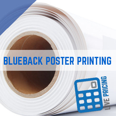 Blue Back 120 gsm Billboard Poster Printing