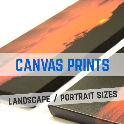 TRADE CANVAS PRINTS & PRINTING - LANDSCAPE & PORTRAIT SIZES