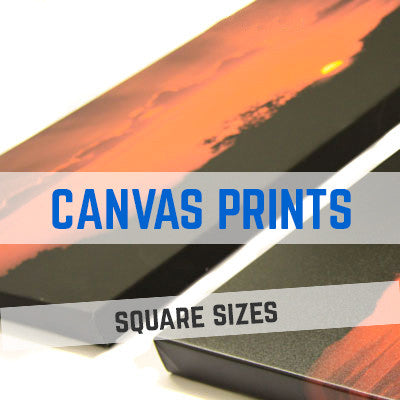 TRADE CANVAS PRINTS & PRINTING - SQUARE SIZES
