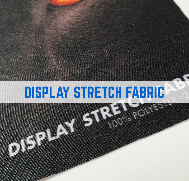 Display stretch polyester fabric printing