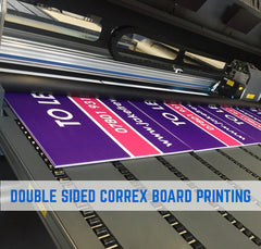 correx estate agent board printing