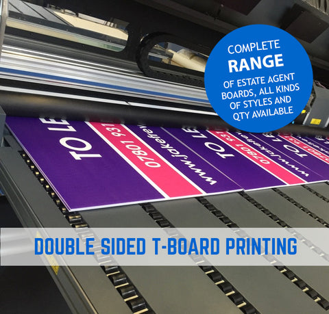 Estate Agent Board Printing