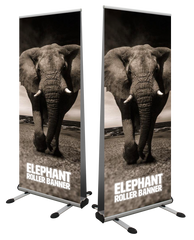 Elephant Premium Double Sided Outdoor Roller Banner