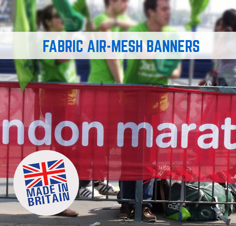 FABRIC AIRMESH HERAS BANNERS