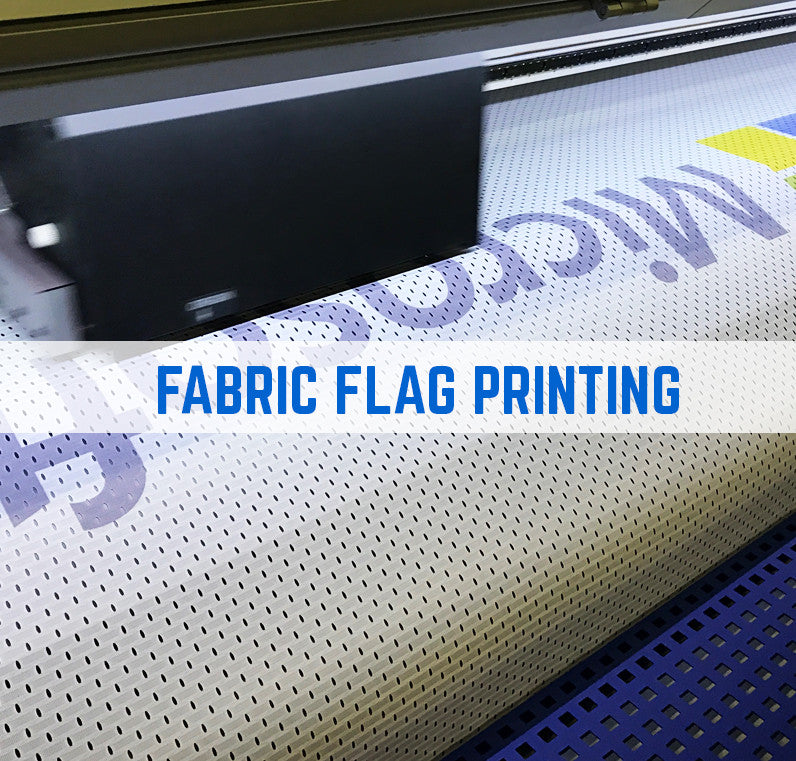 fabric flag printing from Group101 - Trade only flag printing