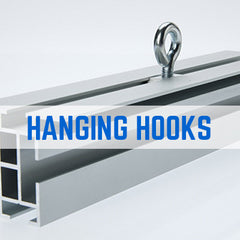 TENSION FABRIC FRAMES HANGING SYSTEM