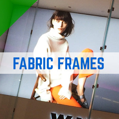 STRETCH TENSION FABRIC FRAMES