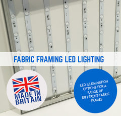 TENSION FABRIC FRAME LED