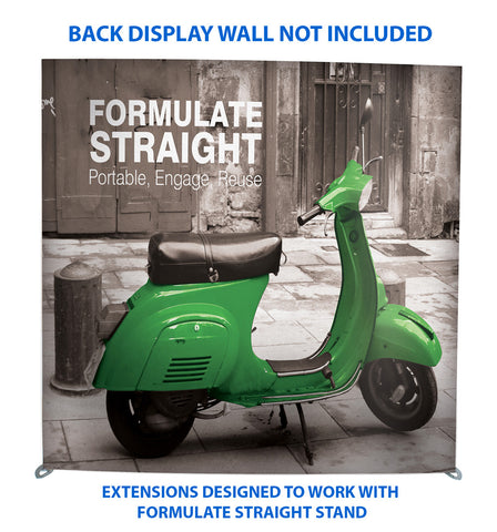 Formulate Angled Extension for Formulate Horizontal Straight Wall