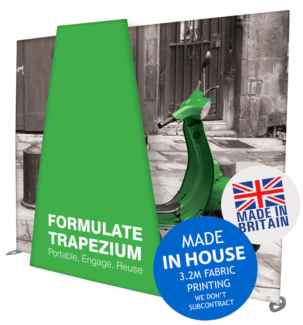 Formulate Trapezium Extension for Formulate Horizontal Straight Wall