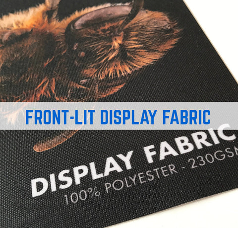 FRONTLIT DISPLAY FABRIC - 260gsm - 100% Polyester Knitted Textile