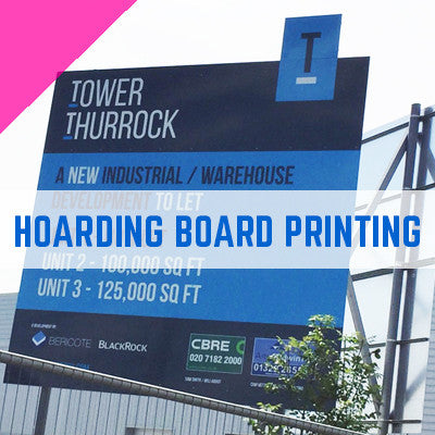 printed hoarding boards