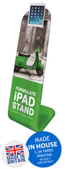 Ipad Fabric Exhibition Promotional Banner Stand