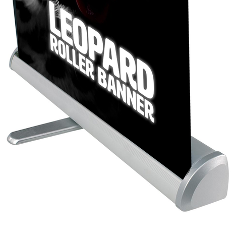 Leopard Roller Banner | High Quality Roller Banners UK
