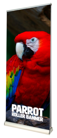 Parrot Premium Double Sided Roller Banner