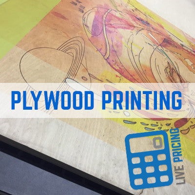 BIRCH PLYWOOD PRINTING