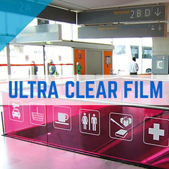 WINDOW GRIP ULTRA CLEAR FILM PRINTING