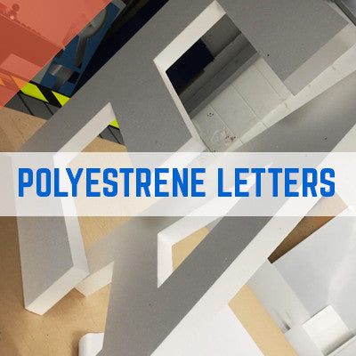 50MM POLYSTYRENE FOAM CUT LETTERS