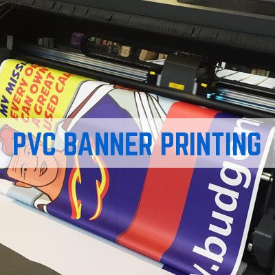 PVC Banner Printing - 550gsm Premium High Quality Trade Banner Printing