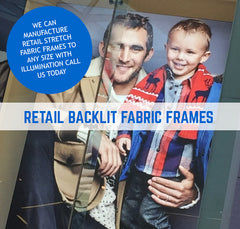 PRODUCED AT ANY SICENSION FABRIC FRAMES