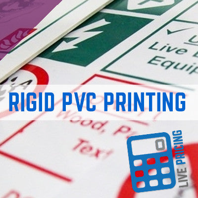 RIGID PVC PRINTING, RIGID PVC PRINTING, PVC CONSTRUCTION SIGNS