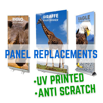 Roller Banner Graphic Panel Replacement