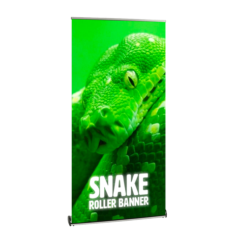 Snake Roller Banner | High Quality Roller Banners UK